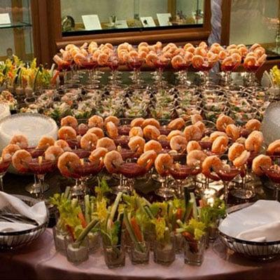 Ilhas Gastronômicas para Festa de Casamento