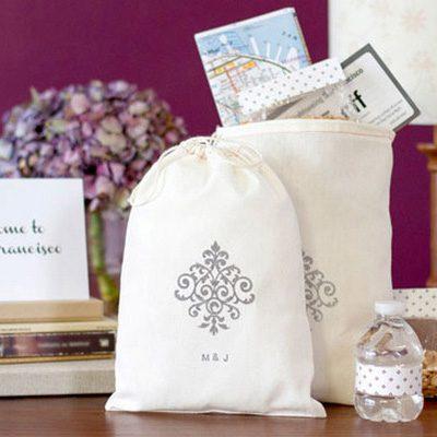 Surpreenda os convidados do casamento com presentes de boas vindas