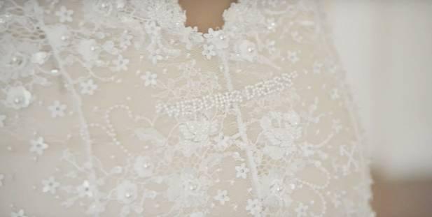 Vestidos e Véus com Bordados inusitados | Tendências para casamentos em 2020