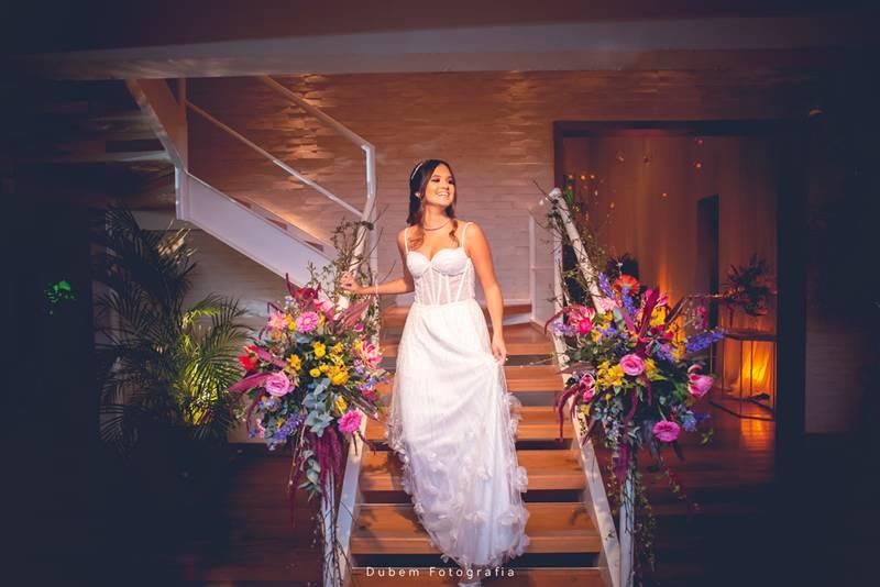 Look na Festa de 15 anos de Larissa Risso | Jardim Boho, na Casa de Festas Spazio Itanhangá
