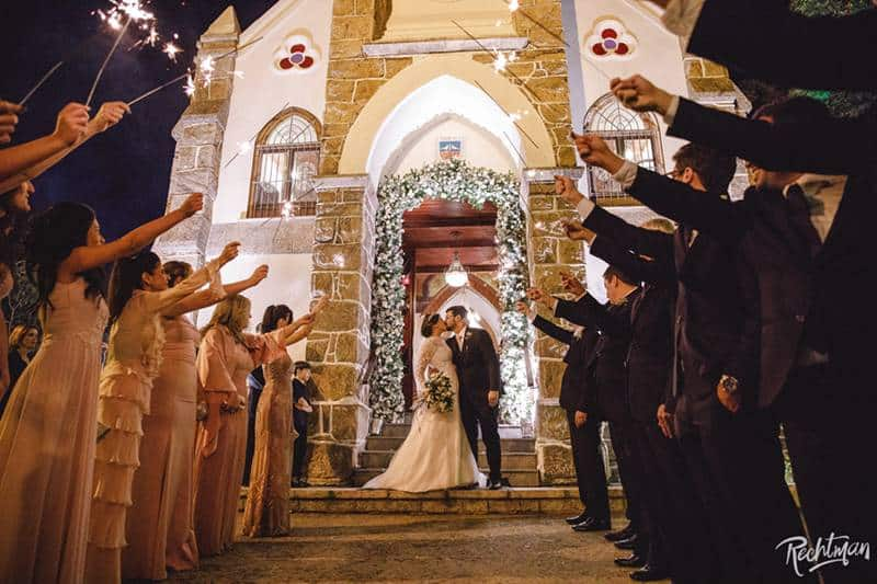 Casamento na paróquia Nossa Senhora da Luz, no alto da Boa Vista
