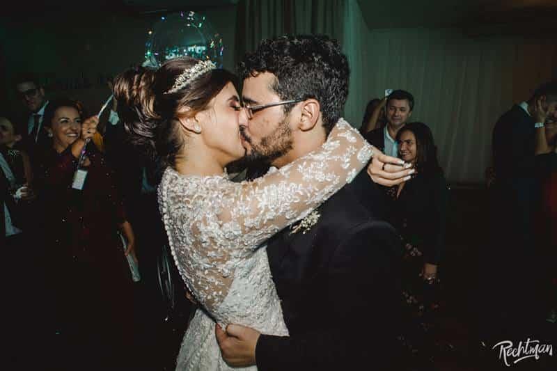 Muita Festa e Comemoração na Festa de Casamento de Karine e Thales